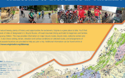 Official Virginia Bicycle Map
