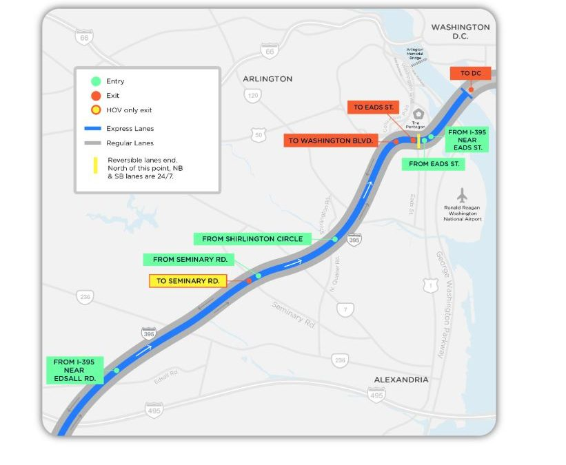 395 HOT Lanes Open November