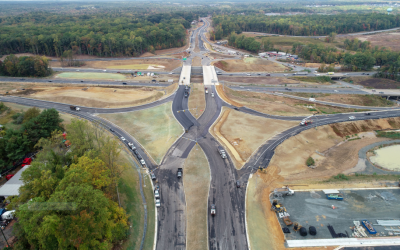 Stafford Diverging Diamond Now Open